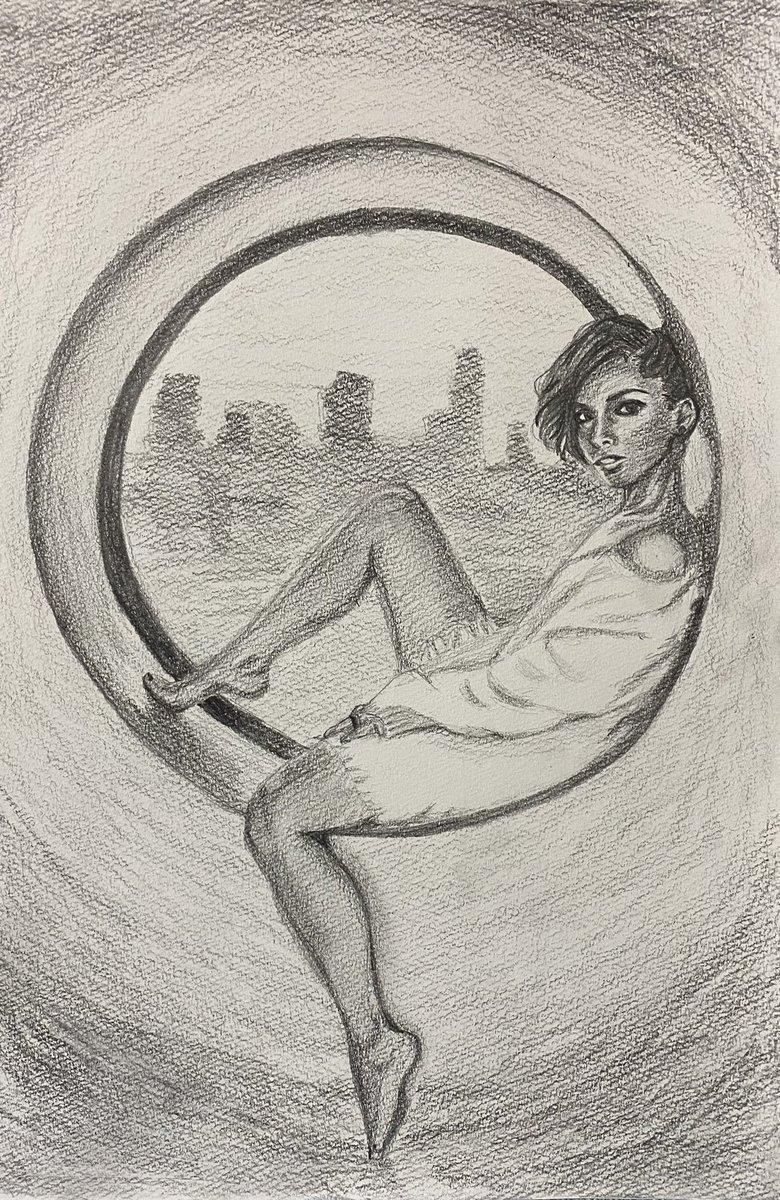 ちょっと頭が大きくなってしまいました…😥  #AliciaKeys  #お絵描き #全身難しい