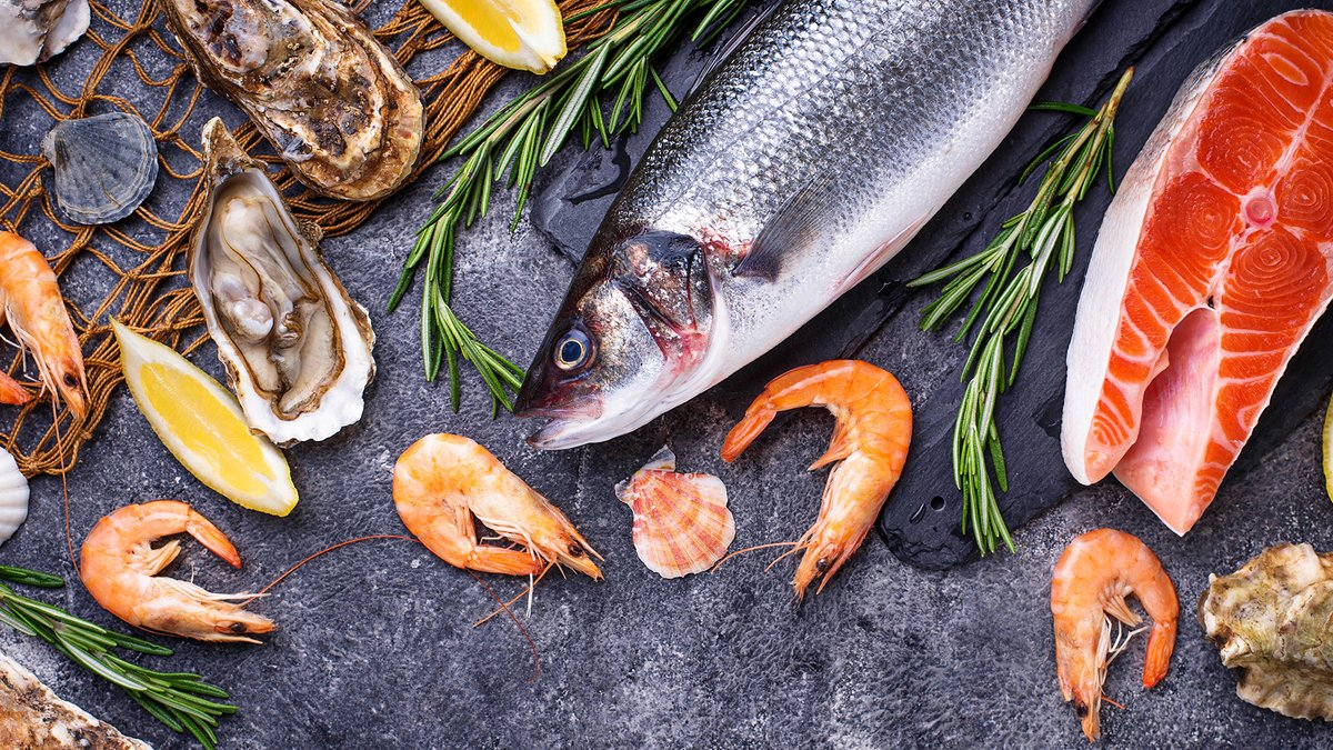 '#Seafood is delicious, versatile, and generally thought as very #healthy. There are lots of different benefits spanning across your body and mind from eating a variety of different seafood - discover them here > https://t.co/Wu1QjOGIEc   #HealthyEating #LoveSeafood https://t.co/IoiiemkM0S