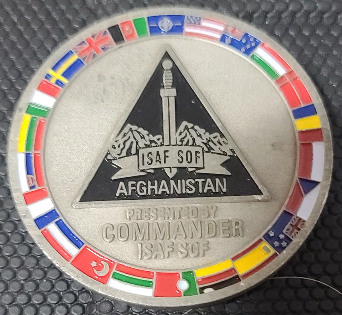 For Today's #challengecoinoftheday #instadaily post we're sharing this #isafsof  #commanderscoin   @SHAPE_NATO  @natosoficcial @NATO @NATO_MARCOM @USNATO @natomission_ru @CanadaNATO @NATOSocial  @NATO_KFOR   @SOCCENT  @soccenter_astana @jsoc_pics  @JSOMonline