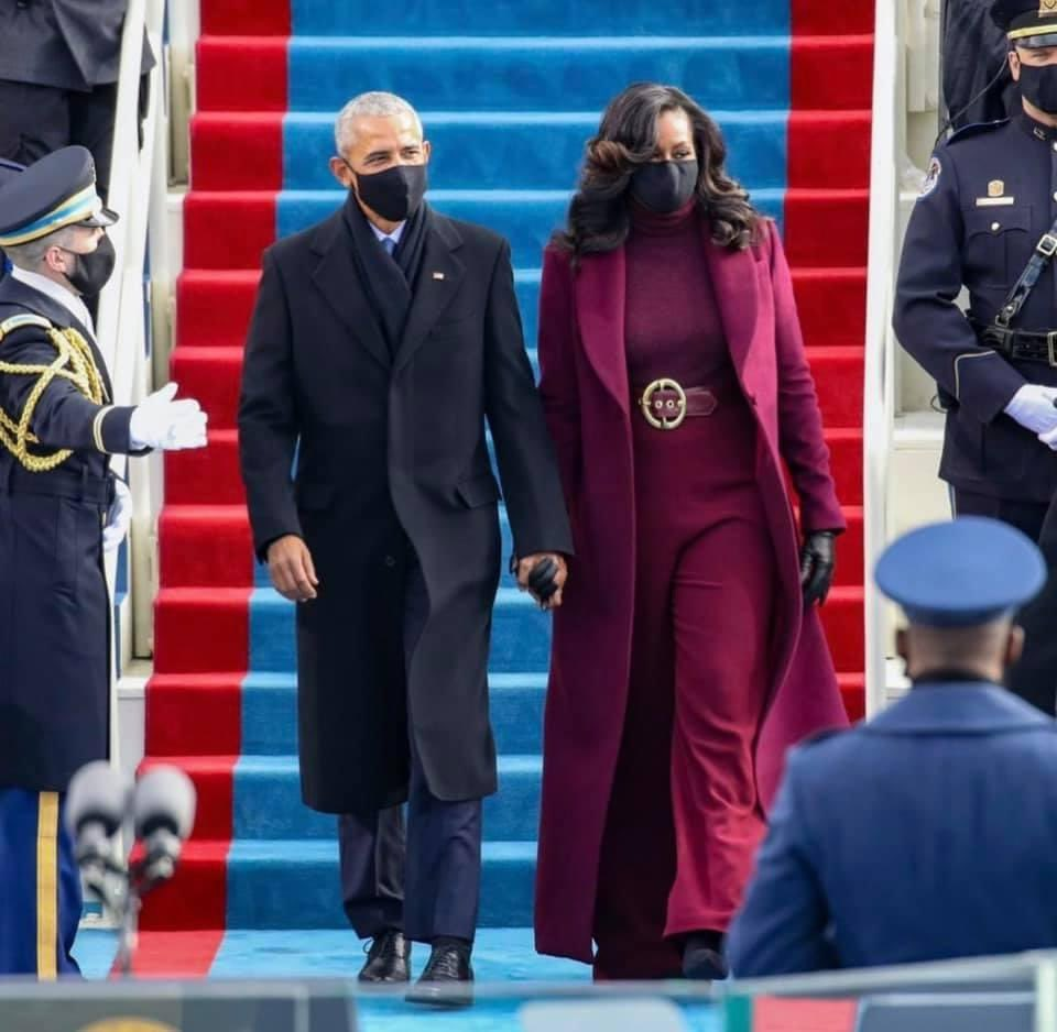 Style and grace 👌🏽#InaugurationDay