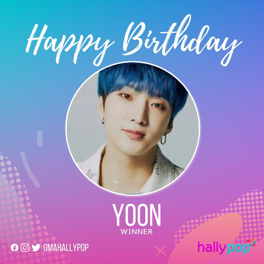 Happy Birthday to Winner's Yoon!