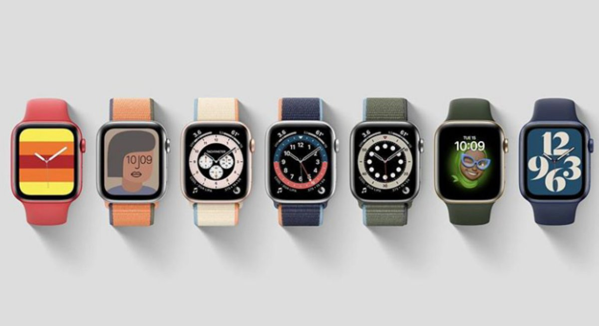 Behold the Apple Watch Series 6 in it's amazing colors  Which is your favorite? Let us know😊  #love #instagood #fashion #photooftheday #art #beautiful #photography #picoftheday #happy #cute #nature #instagram #tbt #followme #travel #like4like #style #repost #instadaily #summer