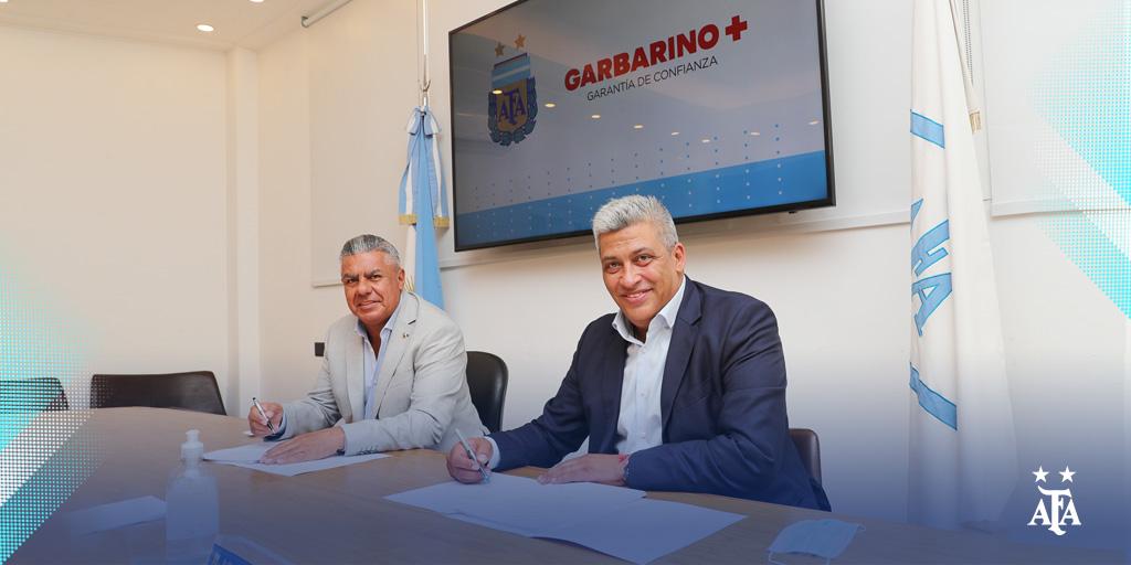 La Asociación del Fútbol Argentino desarrollará junto a @Garbarino su nueva tienda online. ¡Bienvenidos!  📝