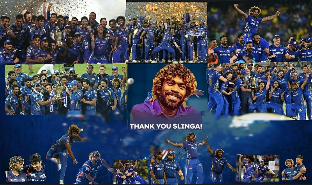The number of joyful moments given by Malinga to @mipaltan fans can't be described in words. A legend who changed the textbooks of cricket and made yorkers look damn easy. WE'LL MISS YOU CHAMPION 💙🐐 #ThankYouMalinga