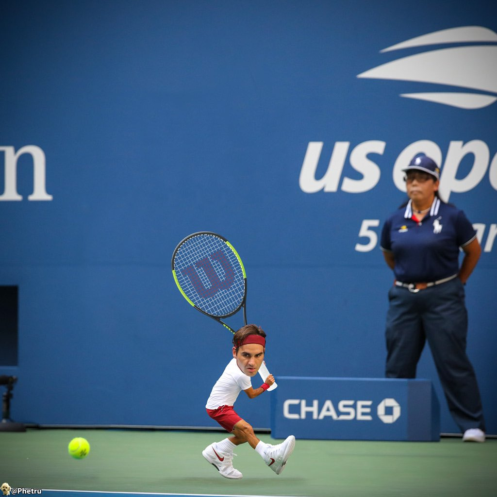 🔥 R O G E R   F E D E R E R 🔥  Roger Federer: The legend. The GOAT 🐐   👉🏼 @rogerfederer   #atp #Federer #rogerfederer #tinyplayers #minijugadores