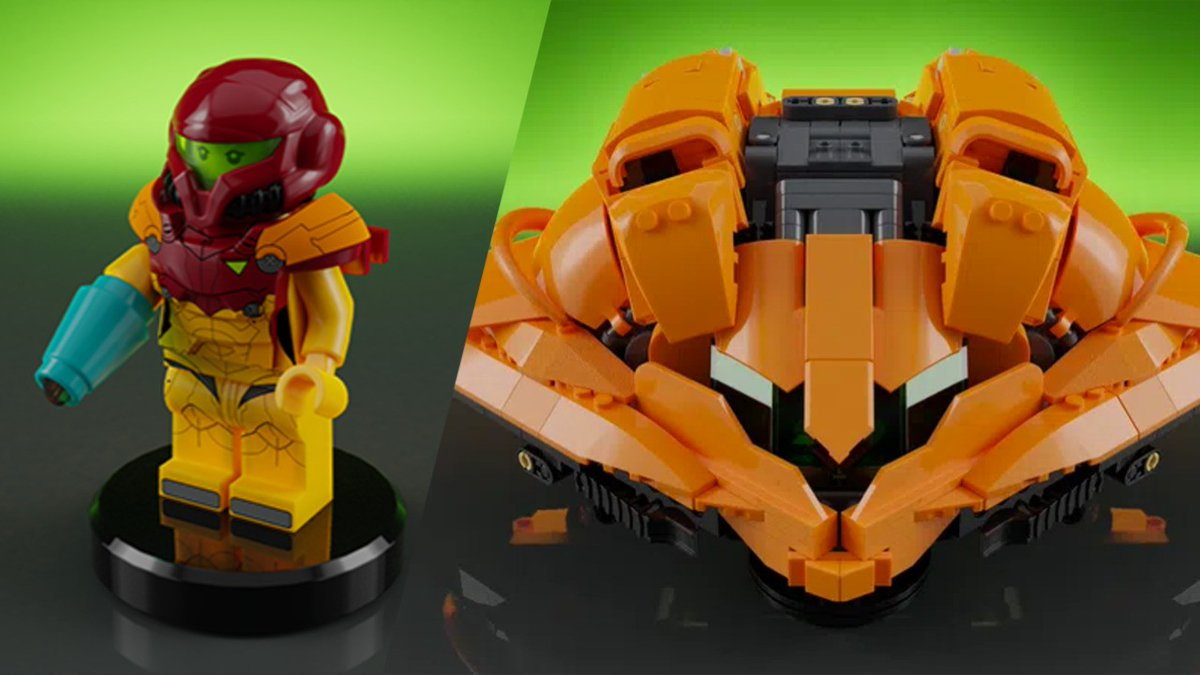 This Metroid Set Could Be Officially Reviewed By LEGO With Your Votes  #Metroid #LEGO