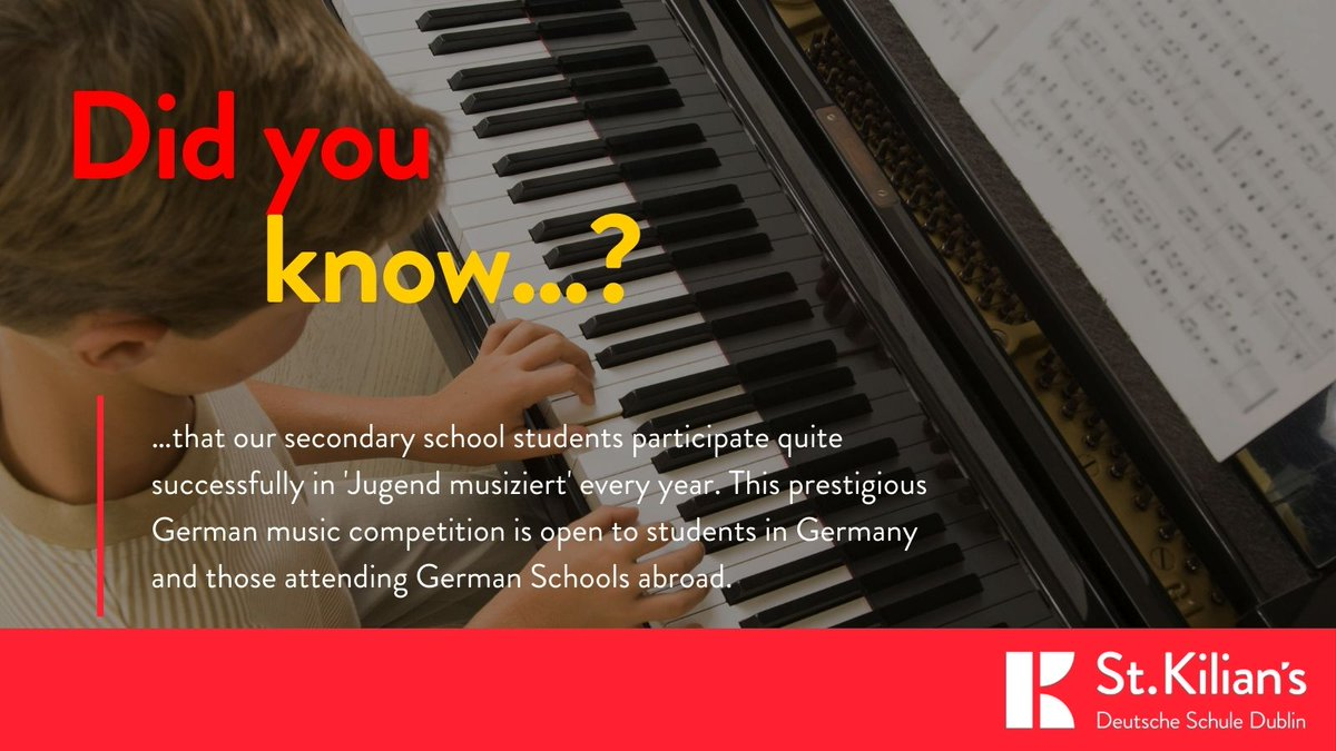 test Twitter Media - This week's fact about our school:  Did you know…? …that our secondary students participate quite successfully in #Jugendmusiziert every year. This prestigious music competition is only open to students in Germany & those attending German Schools abroad. https://t.co/cC92njfIYR https://t.co/42DBm25v1c