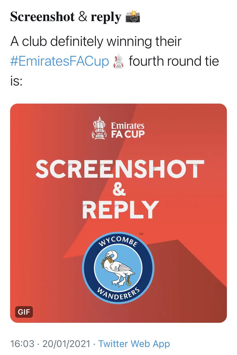 #FACup #EmiratesFACup #WycombeWanderers @wwfcofficial we went beyond our wildest dreams