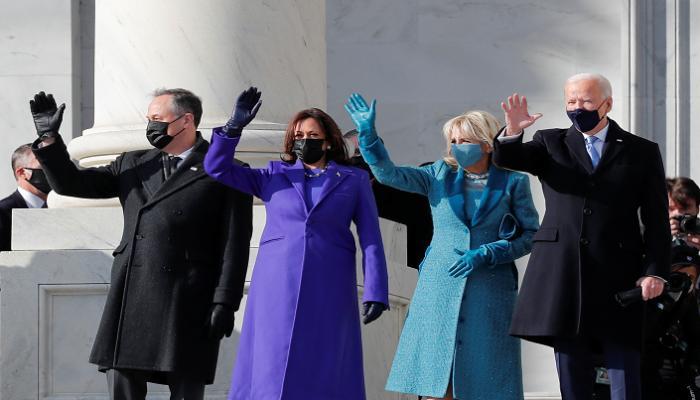 د ب أ) وصل الرئيس الأمريكي المنتخب جو بايدن إلى مبنى الكابيتول الأمريكي قبل التنصيب، جريدة عمان