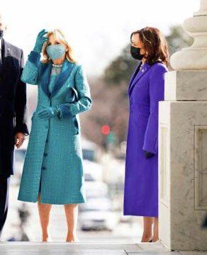 Can you see it ? Or Nah But with a #meleninanna🙎🏾♀️?#BidenHarrisInauguration #InaugurationDay #ByeByeTrump #Inauguration #fashionstyle #Inauguration2021