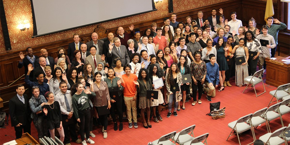 Applications for the 2021 City of Cambridge Scholarship are currently being accepted. The Scholarship Fund provides financial assistance to college-bound high school seniors & Cambridge residents pursuing post-secondary education. Apply today -  #CambMA