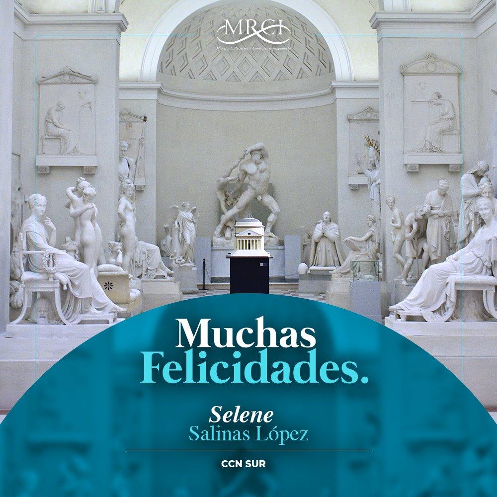 ✨ El H. Corporativo MRCI, en este día especial felicita a Selene Salinas López.🥳   🎉¡Feliz Cumpleaños!🎉  #FamiliaMRCI #MRCI #Felicidades #happybirthday #FelizCumpleaños 🎂