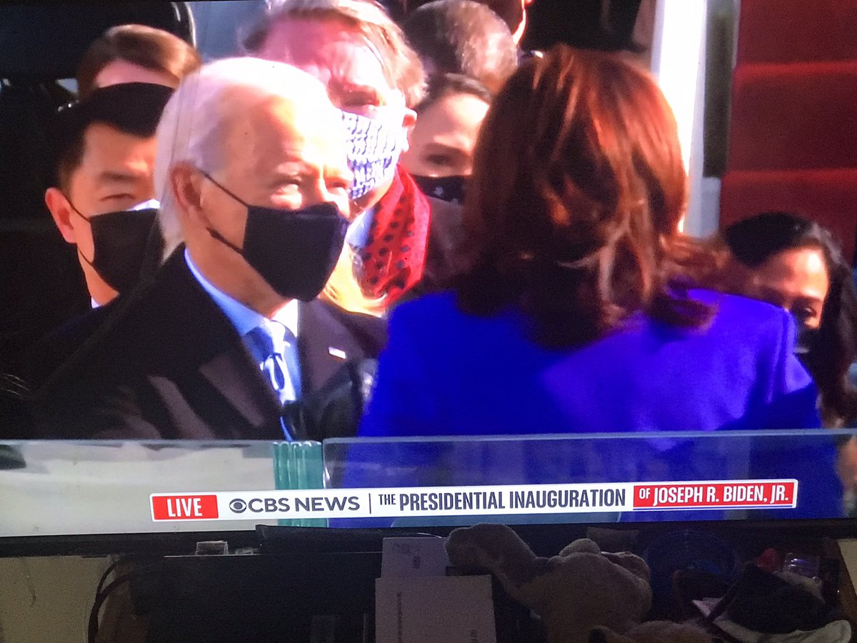 kamala harris is sworn in as vince president. A great day for all women. Especially African Americans and Indians #InaugurationDay #Inauguration2021