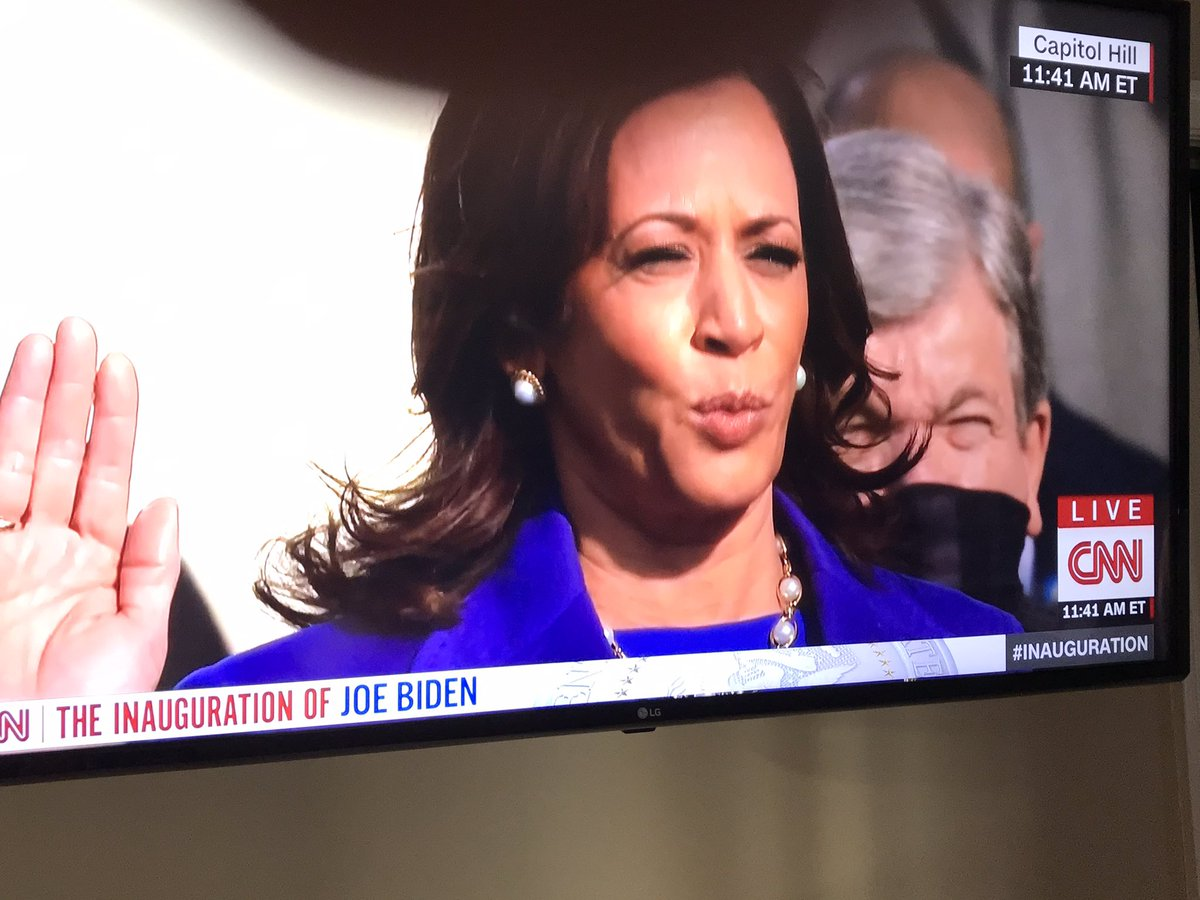 This is morning in America. Kamala is now Vice President!