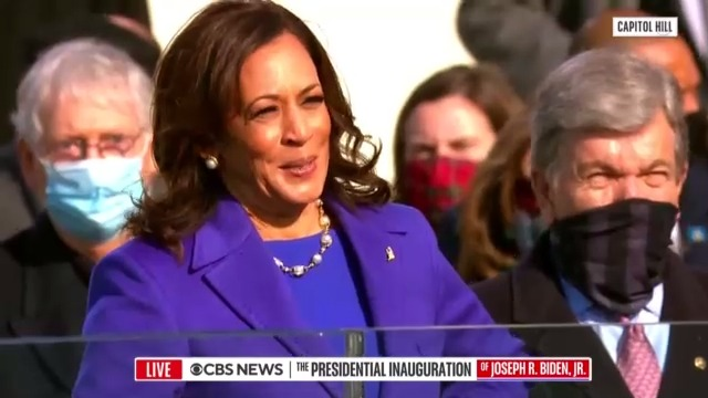 Kamala Harris is officially America's next Vice President of the United States.  She is the first woman and first African-American and Asian-American to serve as vice president.   #Inauguration