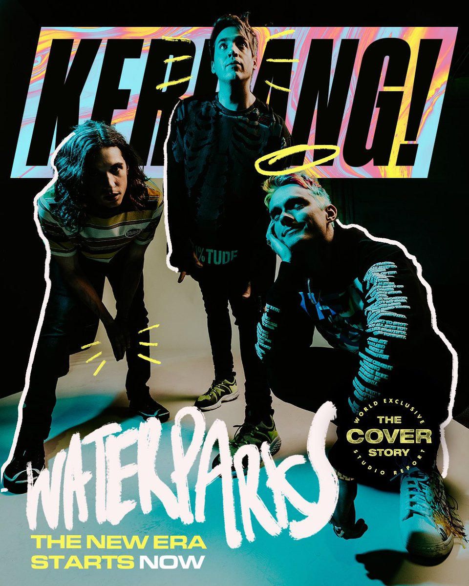 KERRANG MAGAZINE COVER STORY   TALKED ABOUT MAKING THE NEW ALBUM, READ BELOW    👁: