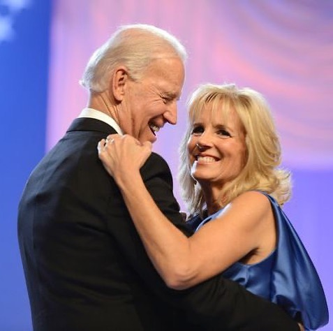 """Sweet words from President Joe Biden & Vice-President Kamala Harris 💕 """"The secret to marriage is communicating, it's really respecting each other...we are each other's best buddy."""" #JoeBiden 💛 """"I could not imagine anyone else I'd rather be with on this journey."""" #KamalaHarris https://t.co/y1Qm31mDaw"""