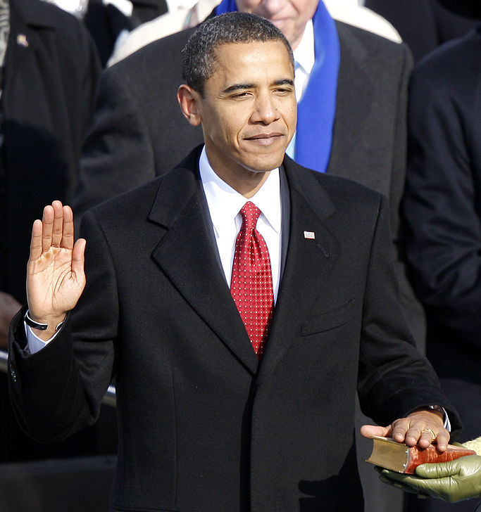 January 20, 2009 - Barack Obama is sworn in as the first Black president of the United States  January 20, 2021 - Kamala Harris is sworn in as the first Black woman and the first South Asian woman vice president of the United States