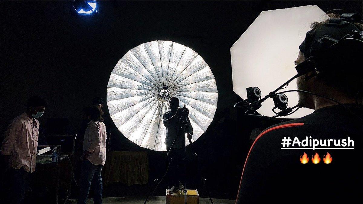 #Adipurush motion capture begins.. 🔥🔥🔥 https://t.co/0jVjG1KndB