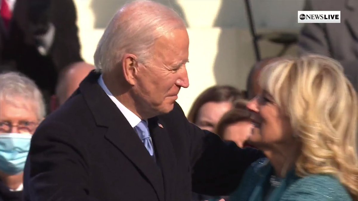 BREAKING: Joseph R. Biden has been sworn in as the 46th President of the United States of America.  #InaugurationDay