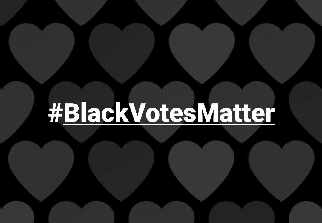 #BlackVotesMatter