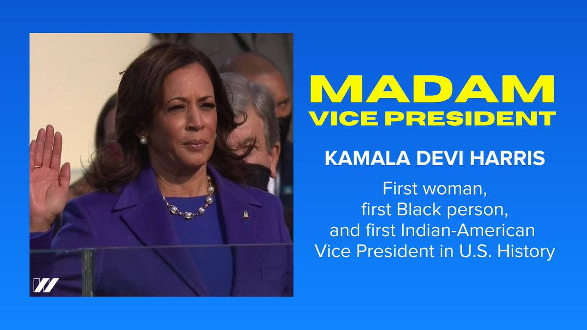 Replying to @USOWomen: MADAM VICE PRESIDENT KAMALA DEVI HARRIS!!!!