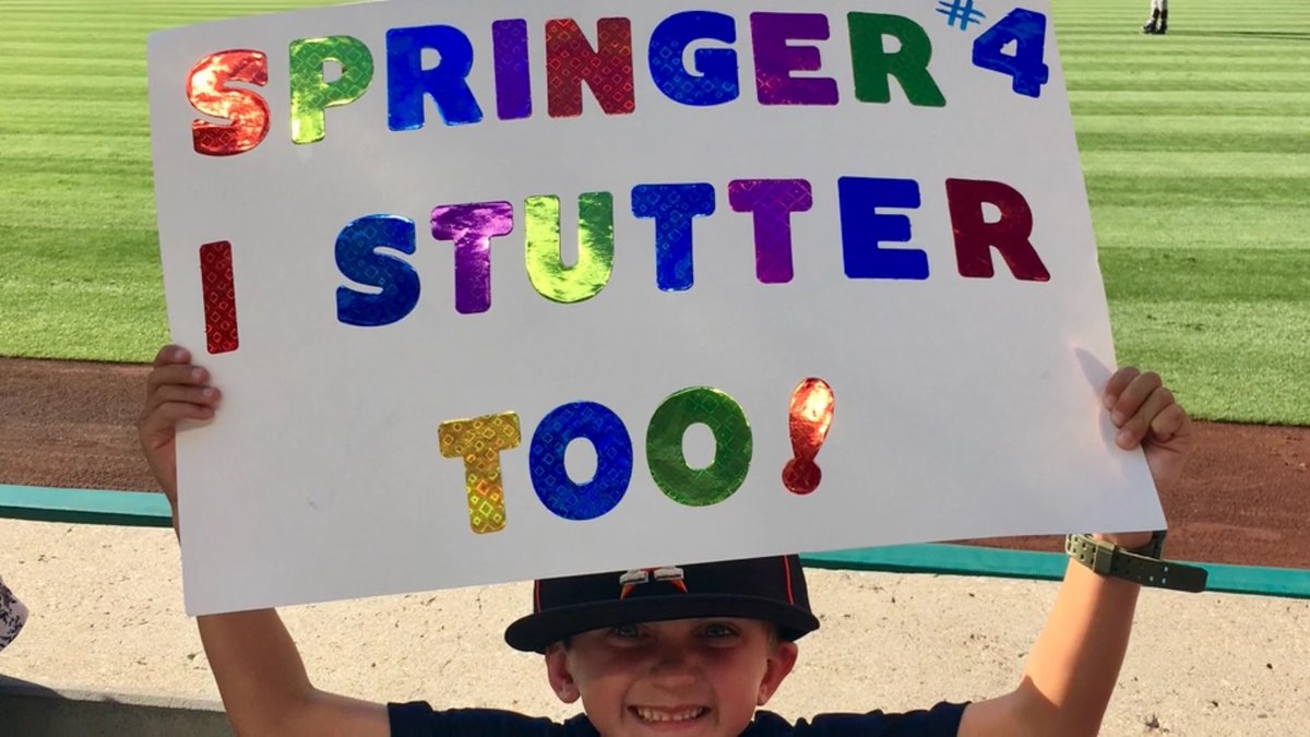 .@GeorgeSpringer's story is one you won't forget.  And it has nothing to do with the new @BlueJays outfielder being a 3x All-Star or World Series MVP.   #WeAreBlueJays | @sayorg