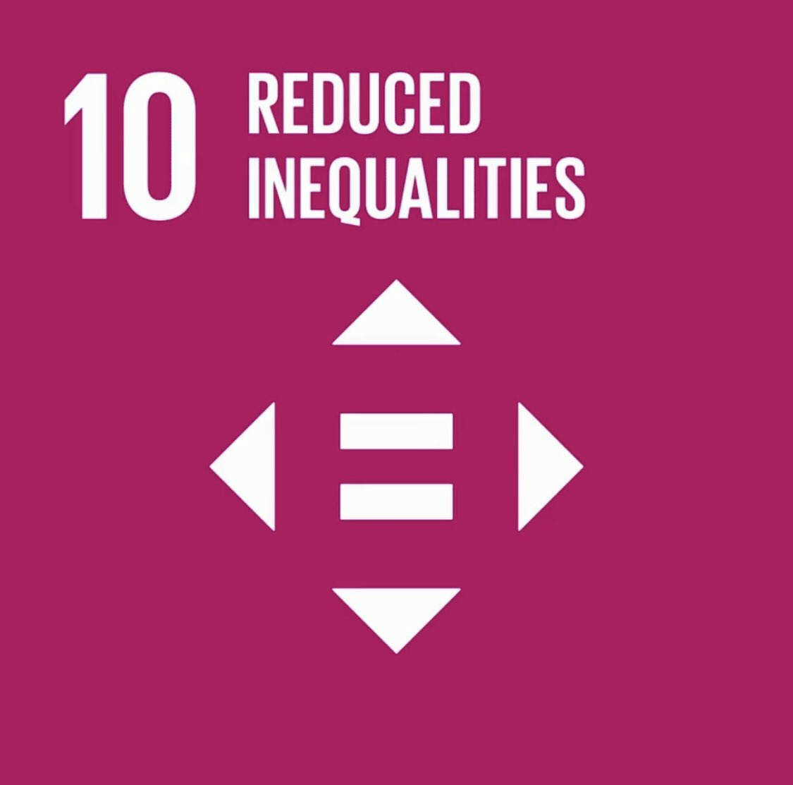 Inequality threatens long term social and economic development, challenges poverty reduction and destroys people's sense of fulfillment & self-worth. It is very important to reduce inequalities within and among countries.   #SDG10 #UN75 #GlobalGoals #Agenda2030  #bkdfoundation