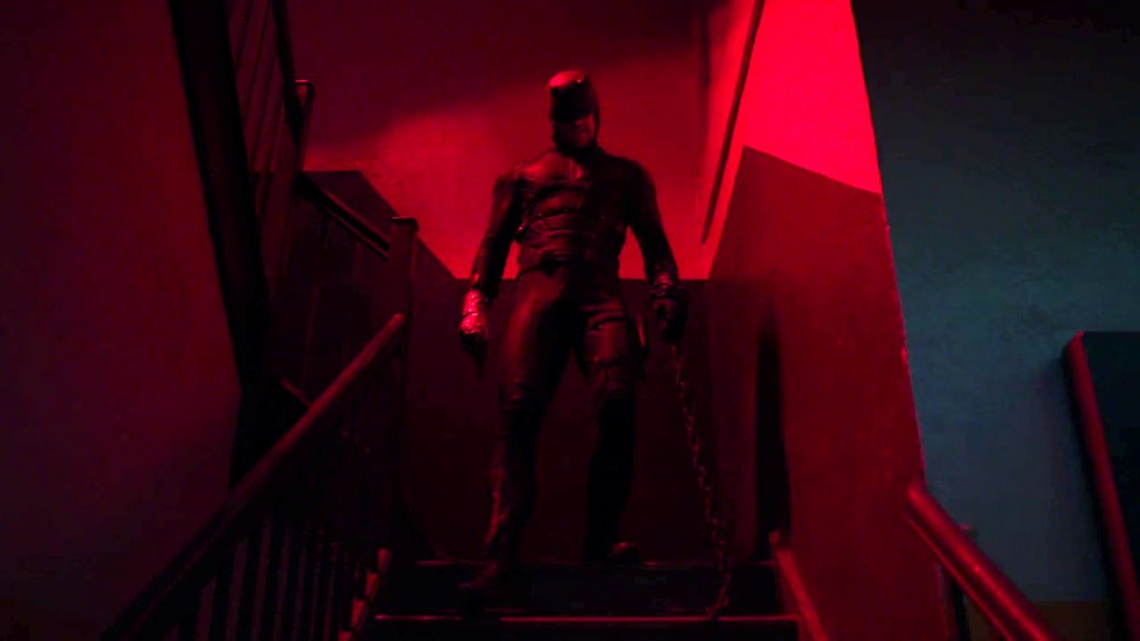 I love it when Daredevil is red