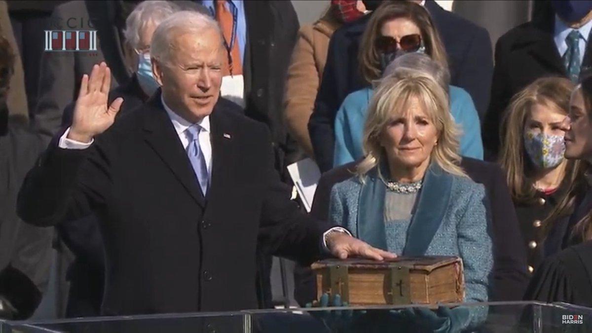 Joe Biden got the Bible Dumbledore kept in the Headmaster's office