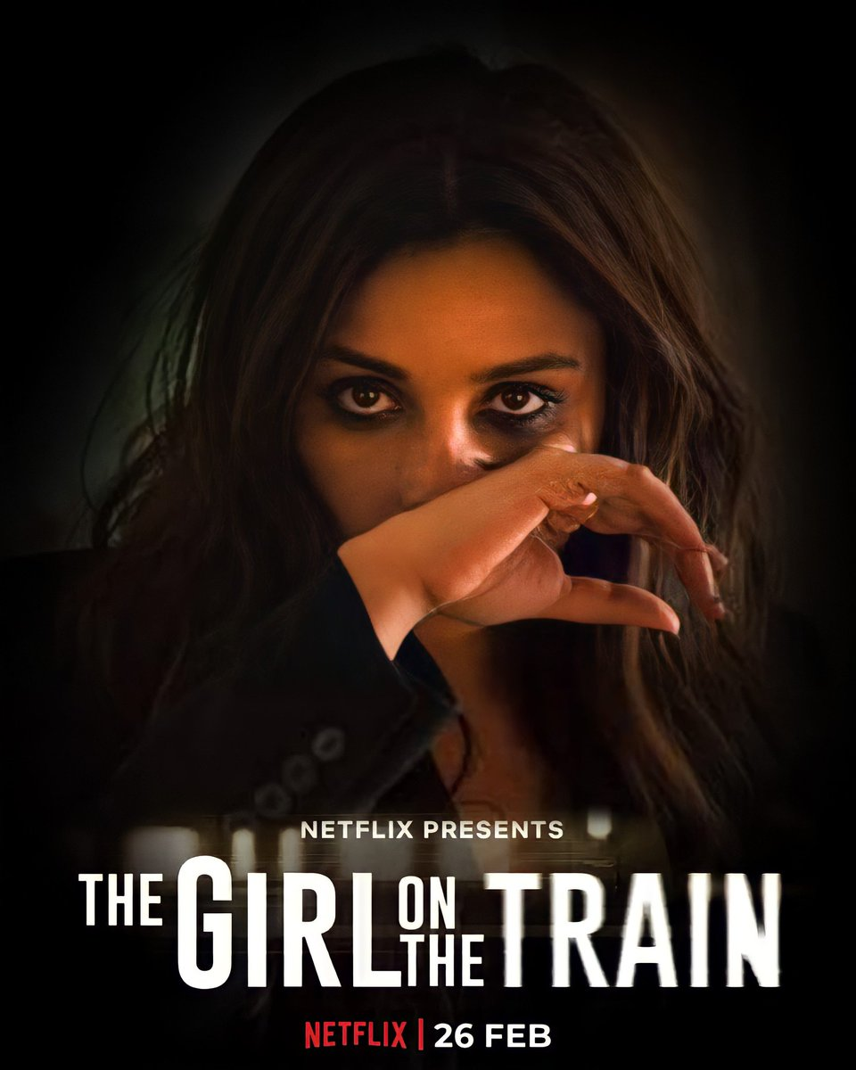 One murder. One suspect. One mystery. This is a train that you don't want to miss. #TGOTT premieres 26th Feb, only on Netflix.  @ParineetiChopra @NetflixIndia #TheGirlOnTheTrain #ParineetiChopra