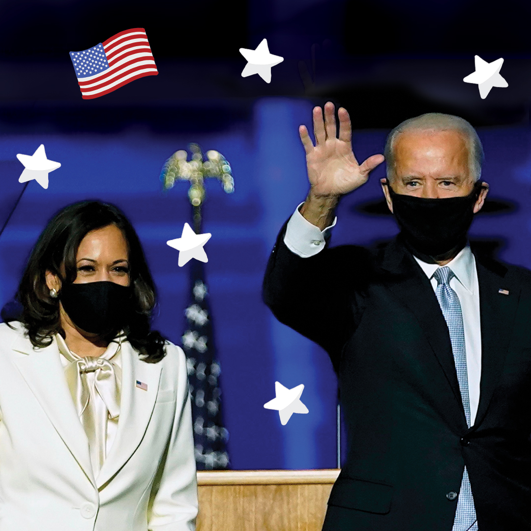Congrats to Joe Biden and Kamala Harris🇺🇸This is the 7th time in the past 9 presidential elections that kids have picked the presidential winners!