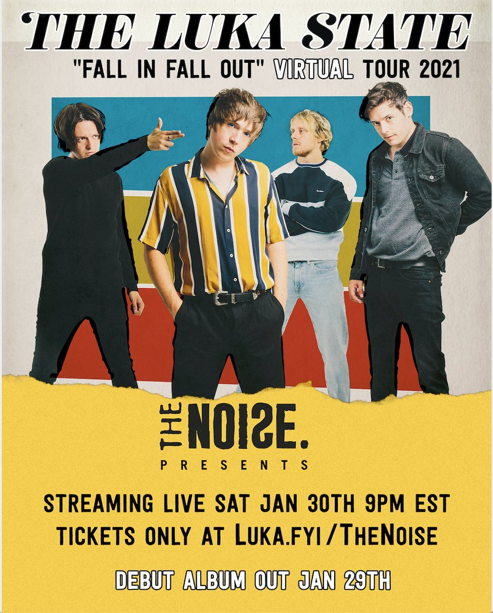 HEY AMERICA 🇺🇸 We've added a US date to our Virtual Tour!! The show will be streaming live with @thenoise on 30th Jan! Tickets are FREE and available at . SEE YA THERE! 😘