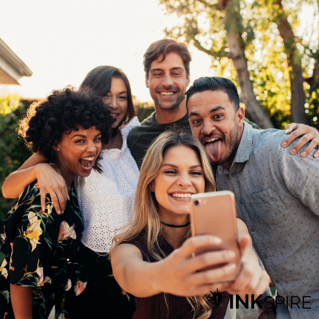 Hey everyone!  Staying safe from COVID has been rough. For today's interesting #DebateWednesday topic, we want to know, which is easier for you: making friends (with precautions) in person or making friends online?   #INKspire #Nonprofit #Precaution #Friends #OnlineFriends