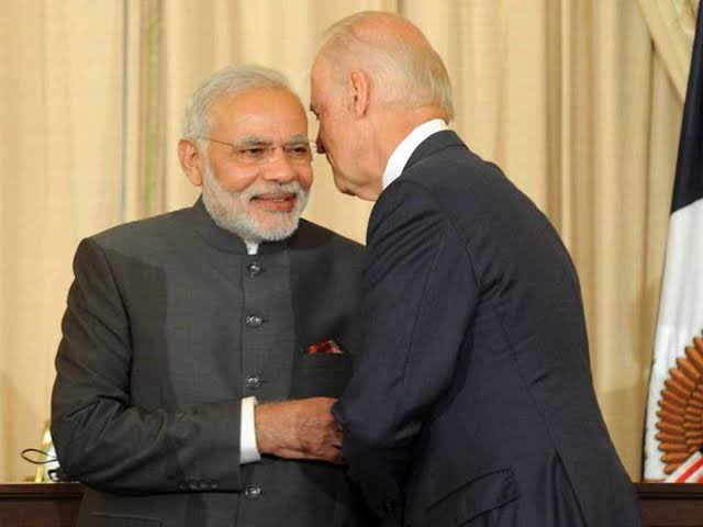 Congratulations to President @JoeBiden and VP @KamalaHarris.  Love & Regards from Indians.  May India and US ties grow even stronger under PM Sri @narendramodi and the new American leadership.