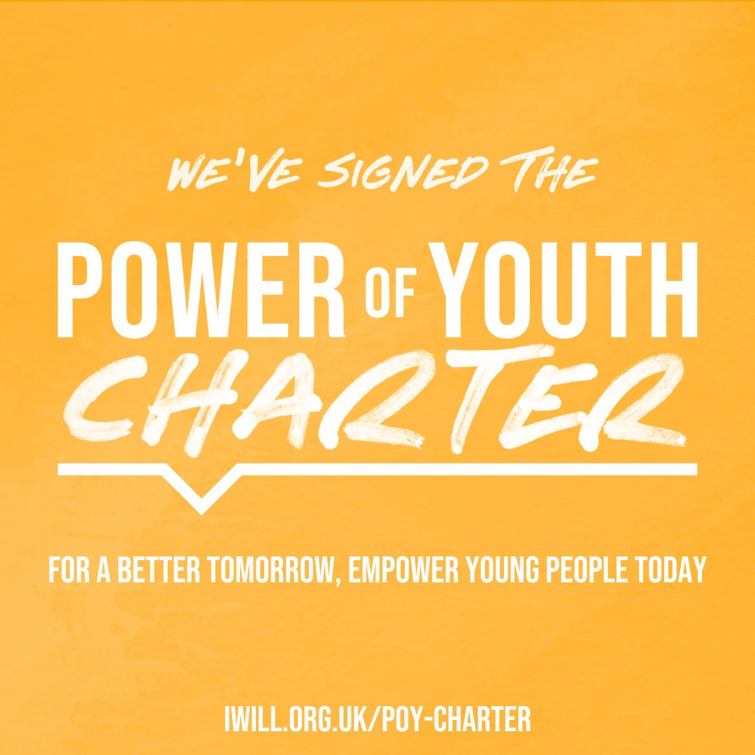 We've signed the Power of Youth Charter ❤️  Brighton & Hove City Council has pledged to empower more young people to shape decisions, take social action and make a positive difference #iwill