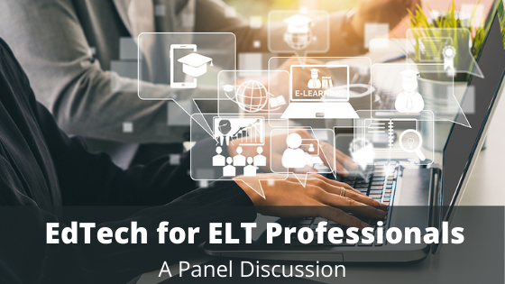 ✨#EdTech Panel Discussion happening tonight at 7 pm  Hear from Jim Edgar, Emily Cameron, and Patrick Chan; three unique ELT professionals who use EdTech in various ways💻📱  Sign up here:   #EdTech #TESLOntario #webinar #seminar #ESL #ELT #LanguageTeaching