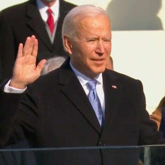 Congratulations & best wishes to @JoeBiden and @KamalaHarris on being sworn in as the President & Vice President of USA. India-US ties are based on many shared values and I am sure that the partnership between the two nations will get further cemented in the coming years.💐💐