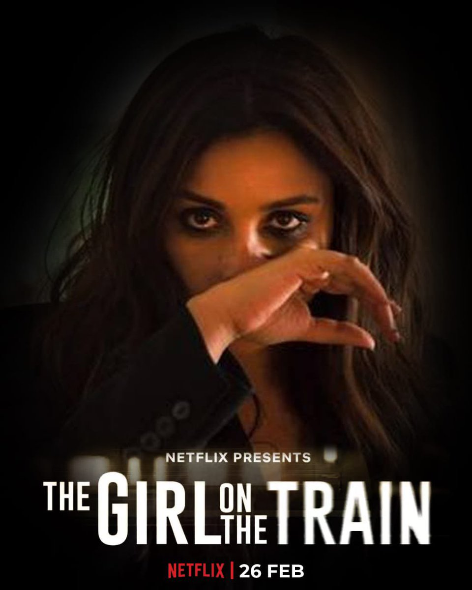 One murder. One suspect. One mystery. This is a train that you don't want to miss. #TGOTT premieres 26th Feb, only on Netflix.  #TheGirlOnTheTrain