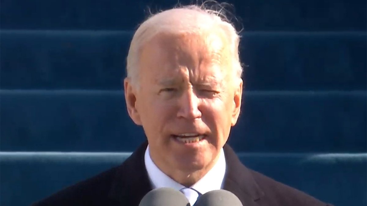 Replying to @TheOnion: Biden: 'Man, We Are So Fucked' #InaugurationDay