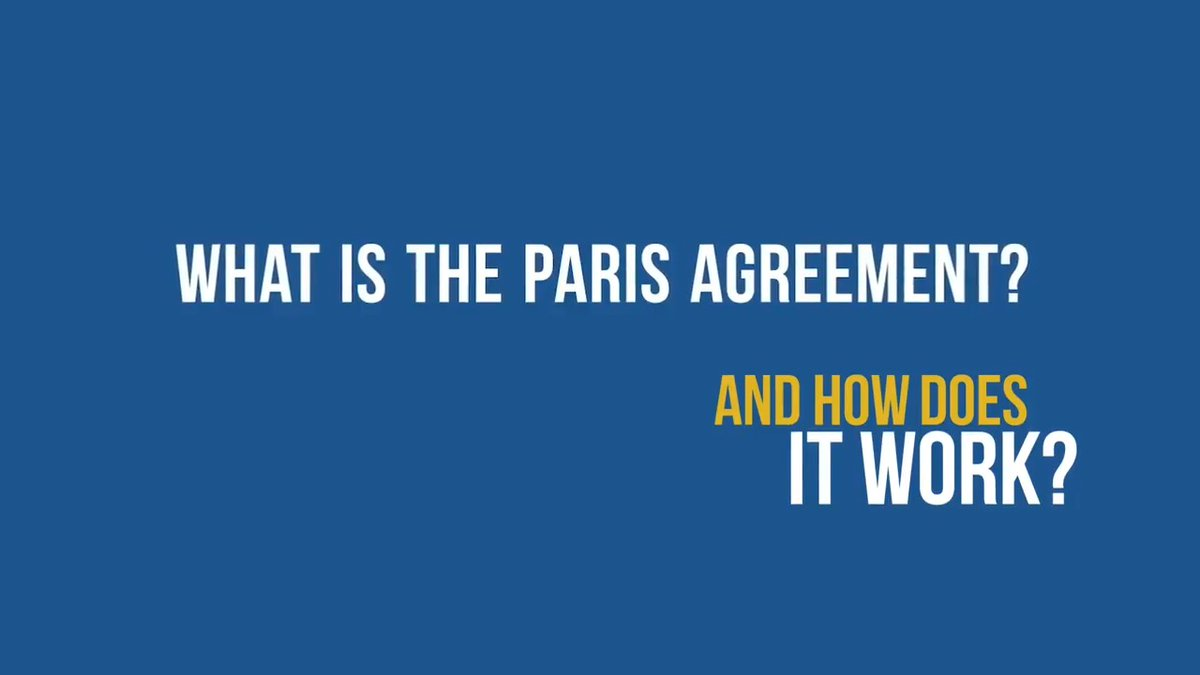 The #ParisAgreement is an international treaty on the climate emergency, aiming to limit global warming to protect people & planet.   It offers a meaningful yet flexible framework for all countries to tackle the climate crisis together.  #ClimateAction