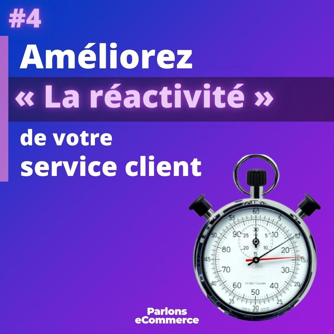 2/2 Utilisez les #5 #clés suivants et ayez un #service #client #eCommerce #irréprochable !