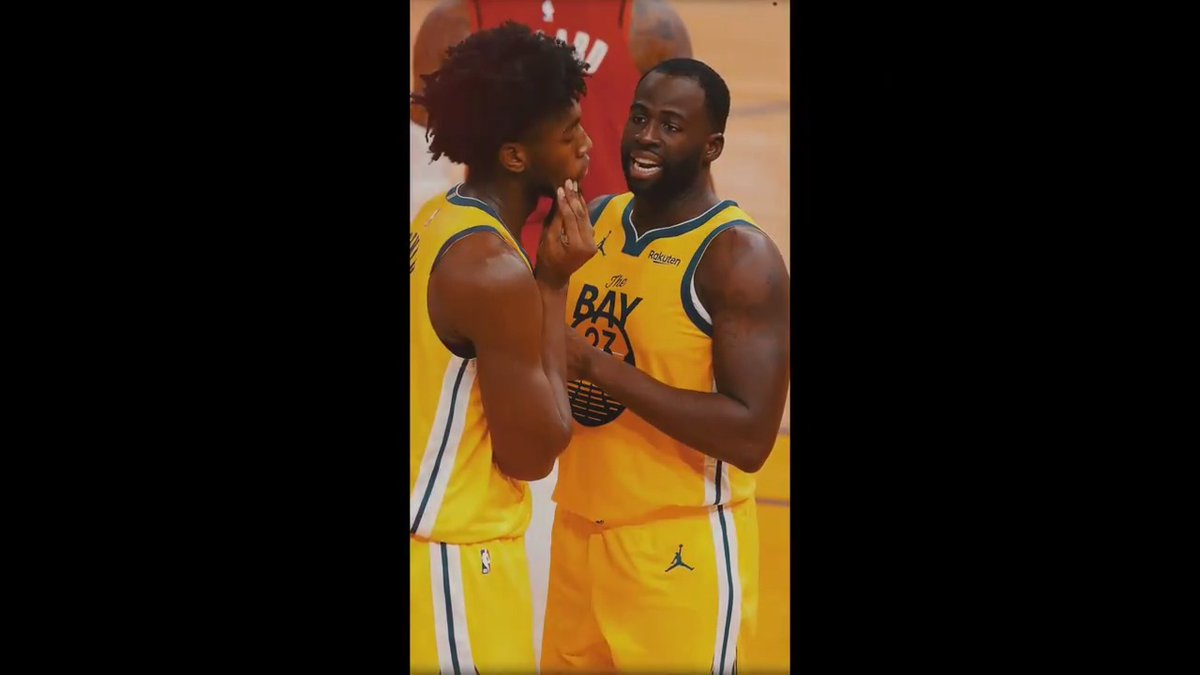 """Draymond is an all-star. He won a couple championships. In terms of me and him, as far as our chemistry, it's been great."" - @BigTicket_JW   Full James Wiseman diary via @MarcJSpears:"