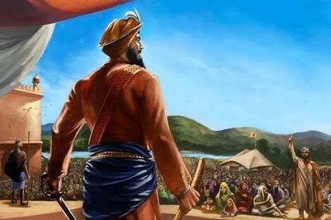 Guru Sahib is referred to as 'Sarbans dani', as he sacrificed his entire lineage (father, mother, four little sons) for fighting against oppression and tyranny. He considered the entire Khalsa as his sons and daughters, not only his four biological sons.