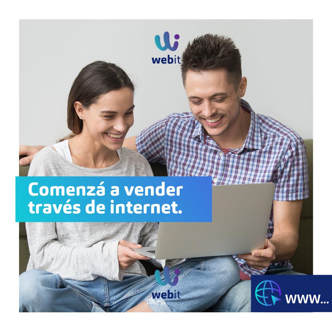 Comenzá a vender a través de internet. ¡Te ayudamos a que puedas dar ese paso! Ingresá a  y seguí los pasos para la activación. #webitpy #tiendaonlinepy #ecommerce #ventas #pagos #internet #emprendedor #negocios