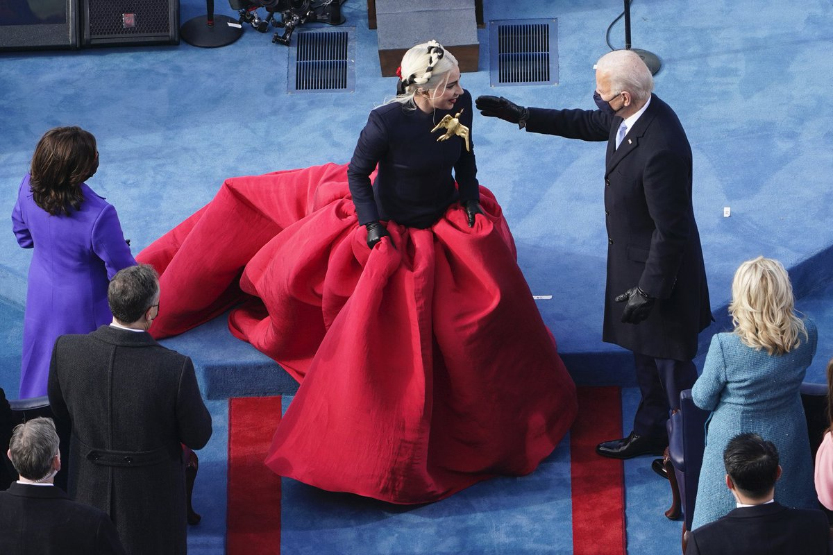 Replying to @EnigmaticGaga: lady gaga trending higher than joe biden.. I KNOW THAT'S RIGHT.