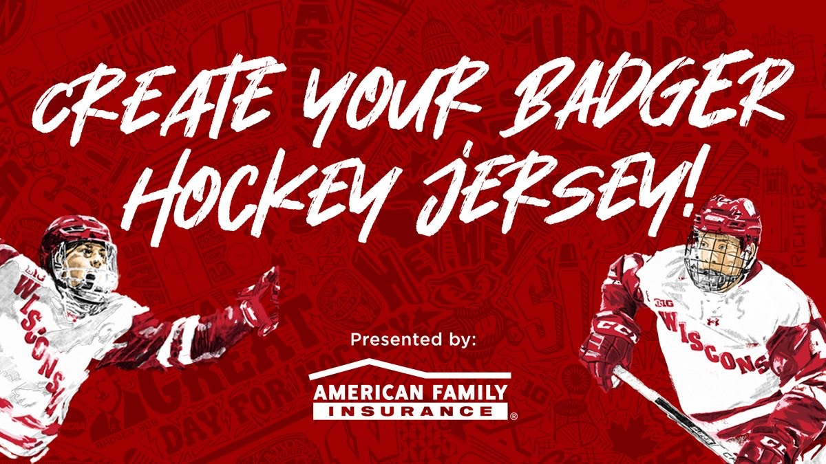 It's Wallpaper Wednesday!!!  Dress up your phone with your very own Badger hockey jersey  #OnWisconsin    @amfam