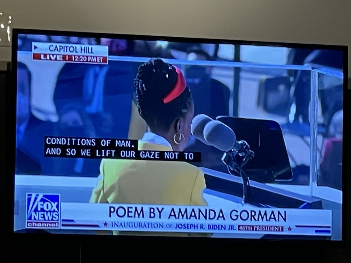 "Biden admin has ""A-MAN-da Gor-MAN"" reading the poem   Have we learned nothing?   How about we get an ""A-WOMAN-da Gor-WOMAN"" https://t.co/Flmq2h4pBj"
