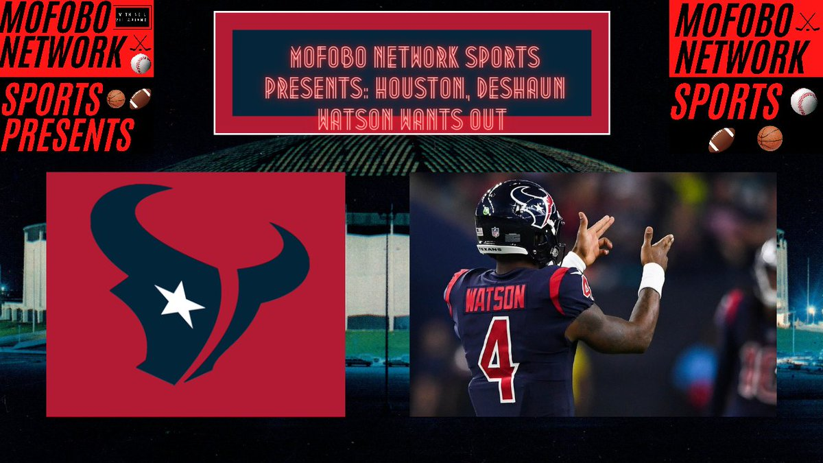 🏈🐂New #MofoboNetworkSportsPresents video is out now!🏈🐂  Deshaun Watson and the problems with the Houston Texans.    #DeshaunWatson #HoustonTexans #NFL #footballnews #YouTube #youtubechannel #NFLTwitter #WeAreTexans #NFLChampionship