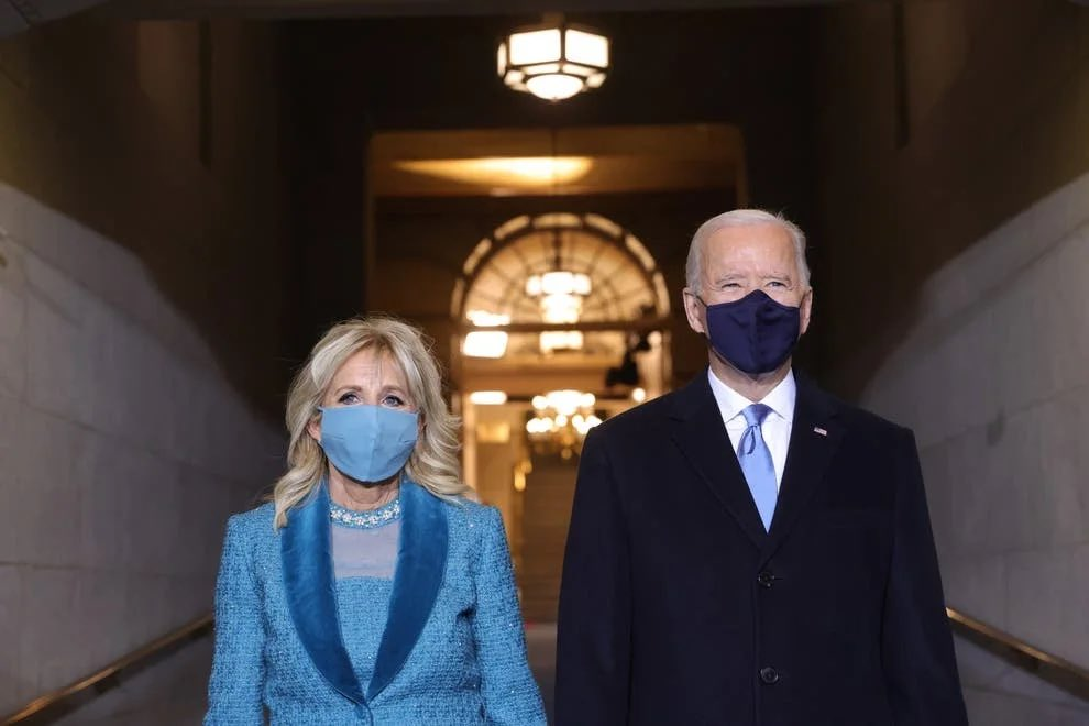"First Lady Dr. Jill Biden ✊🏻  The first lady will continue her teaching career whilst at the White House   ""It's important, I want people to value teachers and know their contributions and lift up their profession""  #InaugurationDay"